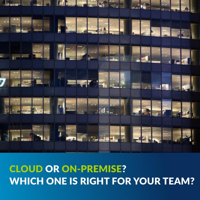 Cloud or on prem blog