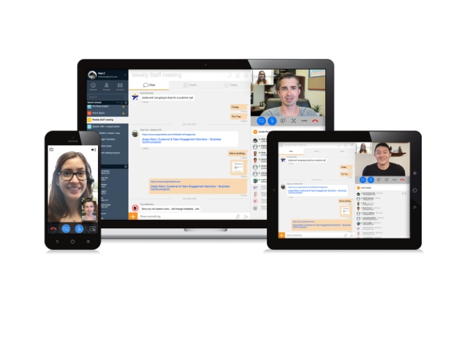 Video Conference on multiple devices