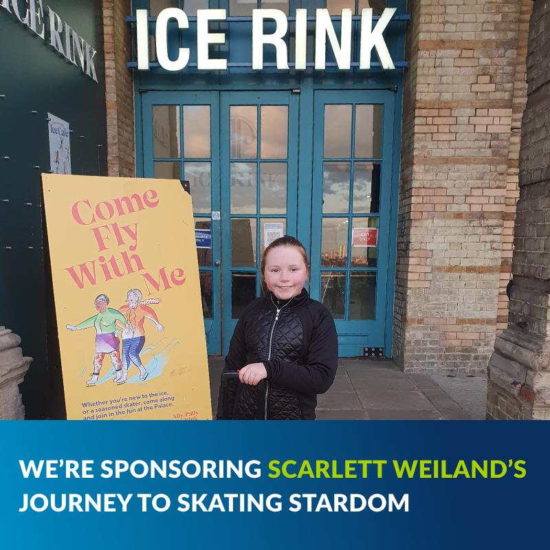 We're sponsoring Scarlett's Skating blog